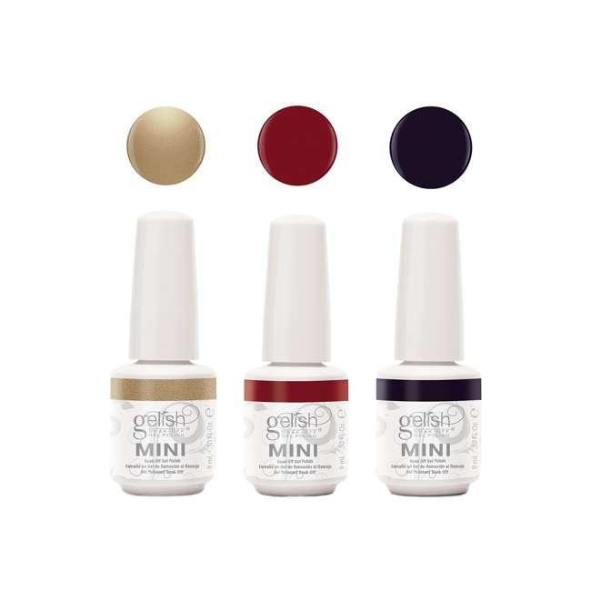 1900205-CHAMPAGNE3P2 Gelish Mini Soak Off 3 Color Nail Polish Set, Champagne & Moonbeams Collection