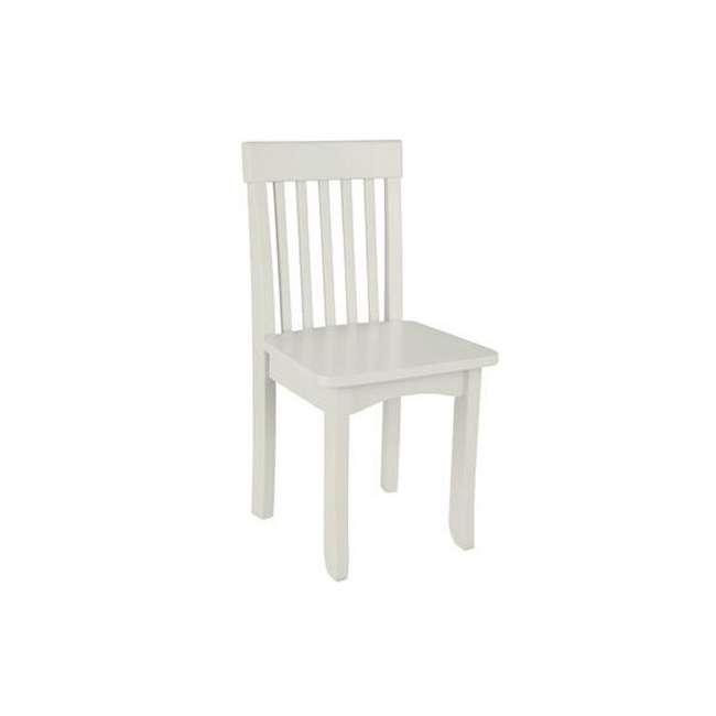 16634-U-A KidKraft Avalon Kids Childrens Wood Chair (Vanilla) (Open Box)