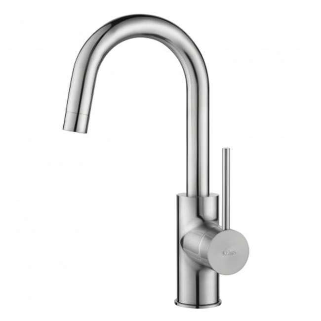 KPF-2600SFS-OB Kraus Oletto Kitchen Bar Faucet, Spot Free Stainless Steel (Open Box)
