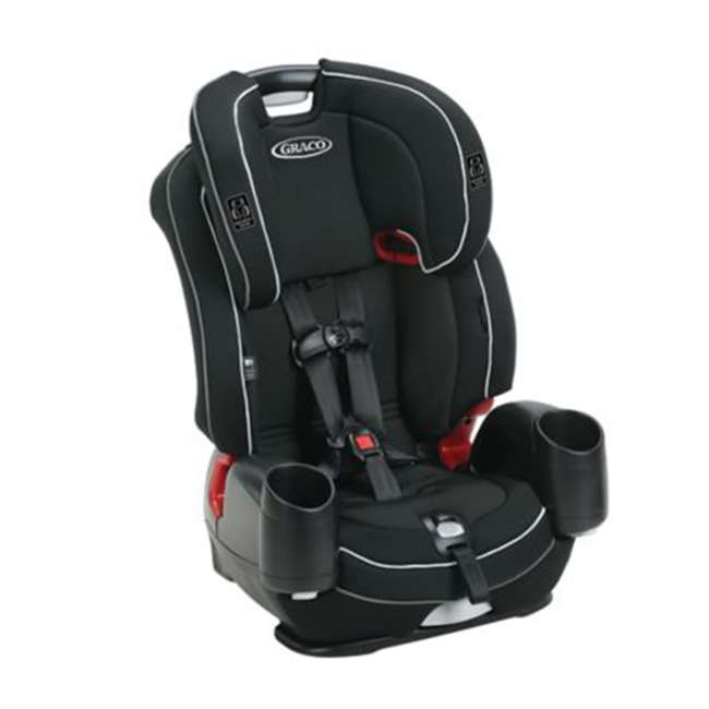 2048739 Graco 2048739 Nautilus SnugLock LX 3-in-1 Convertible Booster Car Seat, Codey 1