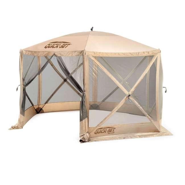 Clam Quick Set Escape Portable Camping Gazebo Canopy ...