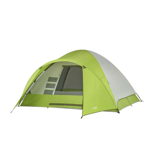 7362516 Wenzel 8-Person Portico Outdoor Family Camping Tent, Green (2 Pack) 1