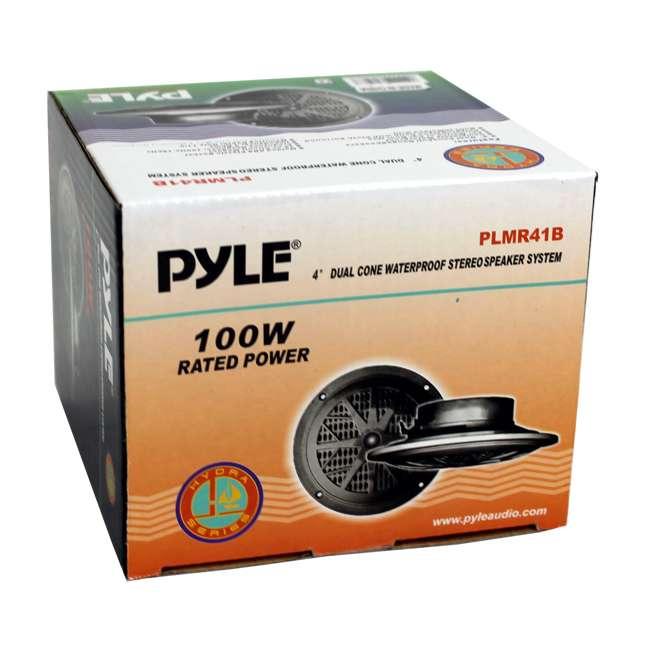 PLMR41B Pyle PLMR41B 4-Inch 100 Watt Dual Cone Waterproof Marine Speakers (Pair) 5