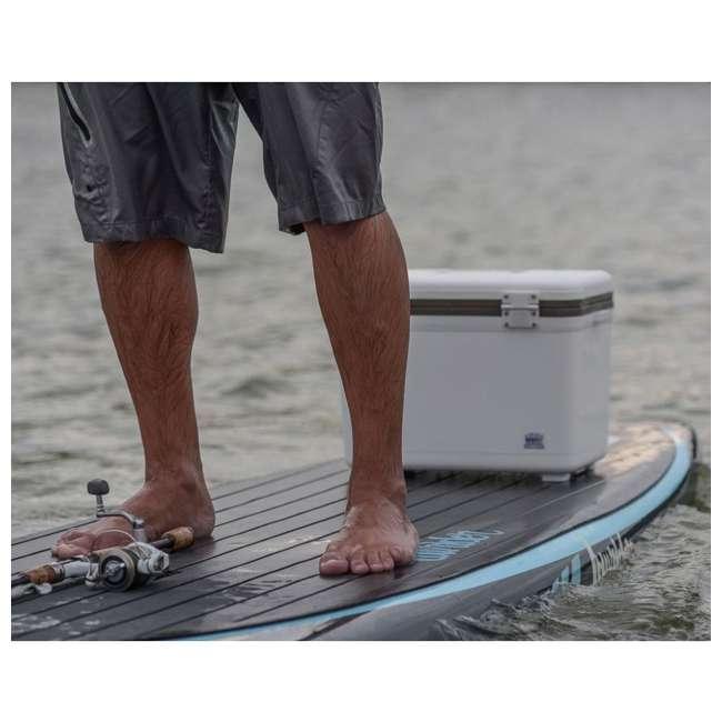 UC30-U-A Engel Coolers 30 Qt Lightweight Insulated Cooler Drybox, White(Open Box)(2 Pack) 1