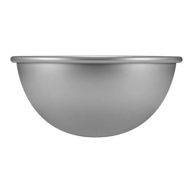 PHA-10 Fat Daddio's PHA-10 10 x 4.75 Inch Size Anodized Aluminum Hemisphere Baking Pan 2