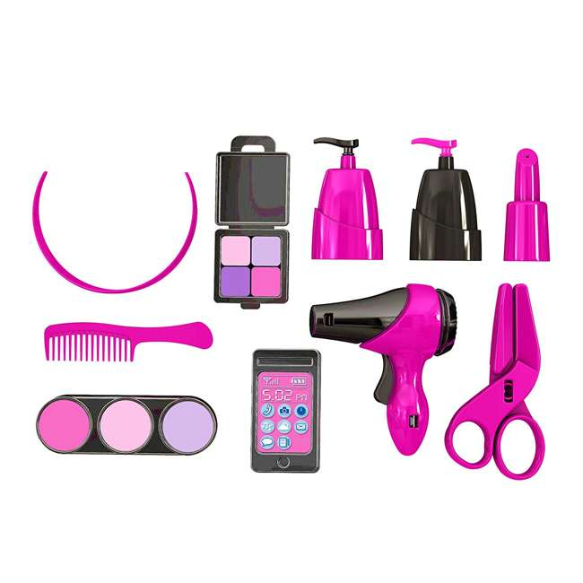 APT-25000 American Plastic Toys Kids Pink First Very Own Deluxe Beauty Salon Role Playset 1