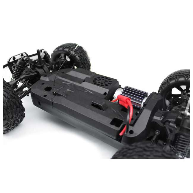 BLACKOUT-XBE-BLUE-U-C Redcat Racing 1/10 Scale Brushed Electric RC Monster Buggy, Blue (For Parts) 8