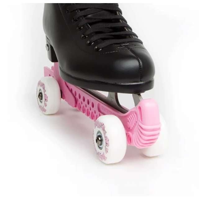 10934-P + 0G144500T1A-S Rollergard ROC-N-Roller Guard, Pink (2 Pack) & Bladerunner Micro Ice Girl Skates 2