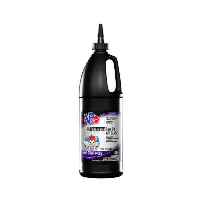6 x 2707 VP Racing 2707 1 Quart High Performance GL 5 Full Synthetic Gear Oil, Black (6 Pack) 1
