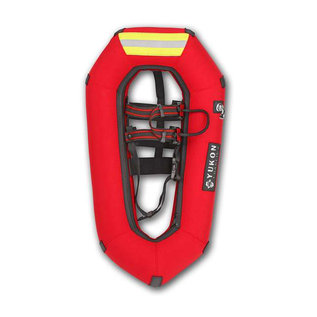 80-8001-U-A Yukon Charlie's Airlift Emergency Inflatable Snow Shoes w/ Crampons (Open Box) 3