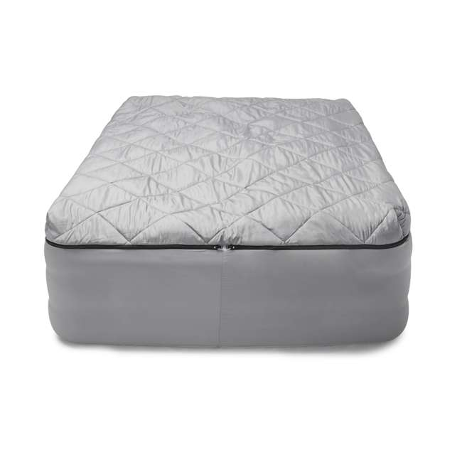 TGT-BEDKIT-2 Tahoe Gear Queen Size Quilted Fitted Sheet Cover & Blanket for Air Mattresses 2