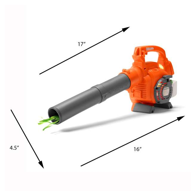 HV-TOY-522771104 + HV-TOY-589746401 + 2 x HV-TOY-5 Husqvarna Toy Chainsaw, Leaf Blower, Hedge Trimmer (2-Pack) and Lawn Trimmer 8