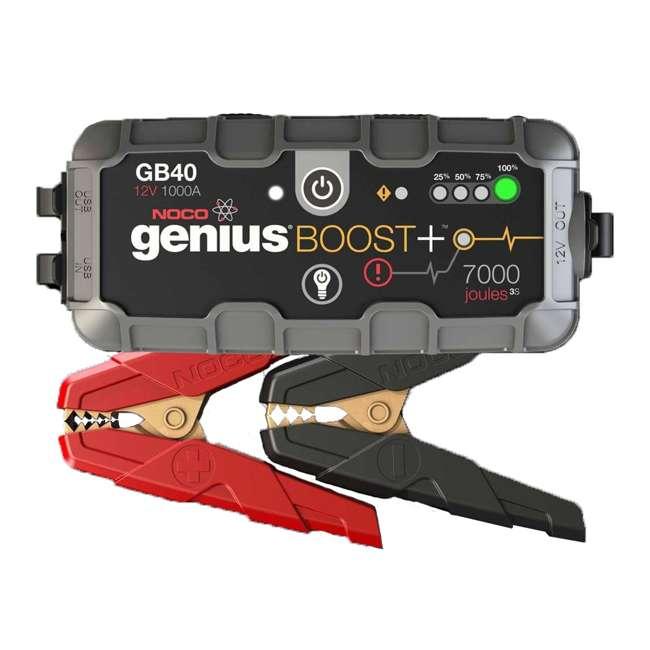 GB40 Noco Genius GB40 Boost Plus 1000-Amp UltraSafe Jump Starter