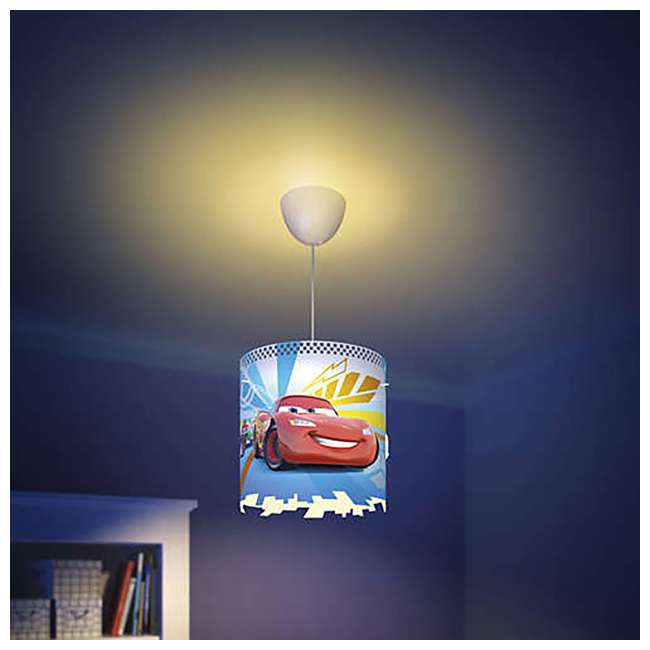 8 x PLC-7175132U0 Philips Disney Pixar Cars McQueen Kids Light Lampshade Only (8 Pack) 4