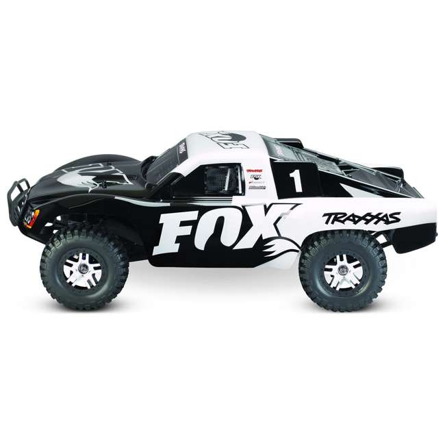 68086-4-FOX Traxxas Slash 4x4 Fox 1/10 Scale Brushless Short Course 4WD Truck with TQi Radio 2