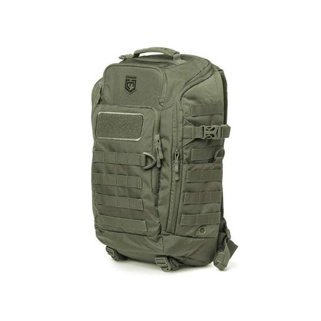 CPG-BP-LEG-M-S Cannae Pro Gear Nylon Medium 21L Legion Day Pack Backpack, Sage