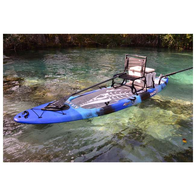 169B TravelChair 169 Larry Weather Resistant Aluminum Outdoor Camping Chair, Blue 1