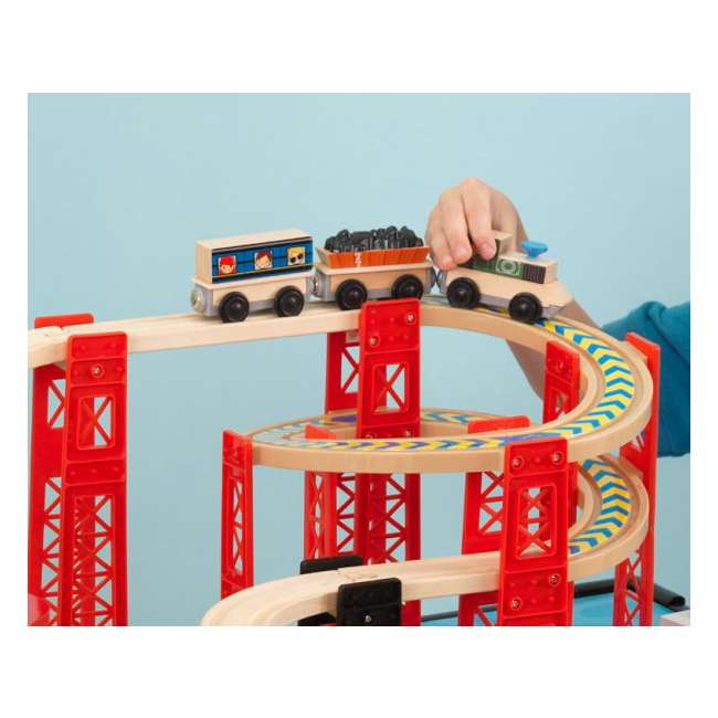 Kidkraft New Metro Wooden Train Table  U0026 Set With Trundle