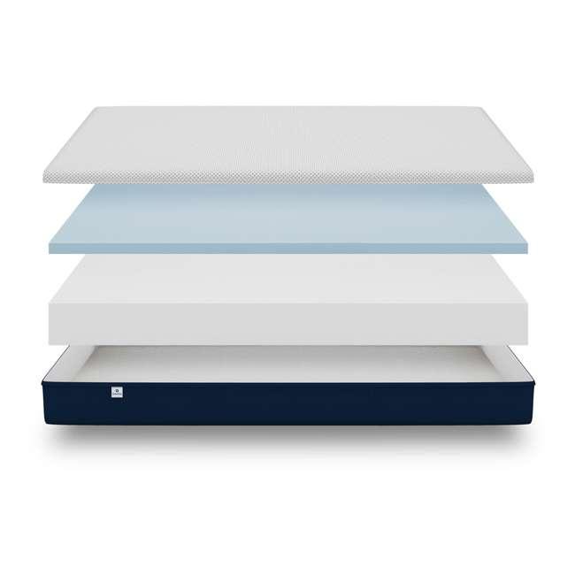 AS1-TXL Amerisleep AS1 Back and Stomach Sleeper Firm Memory Foam Bed Mattress, Twin XL 6