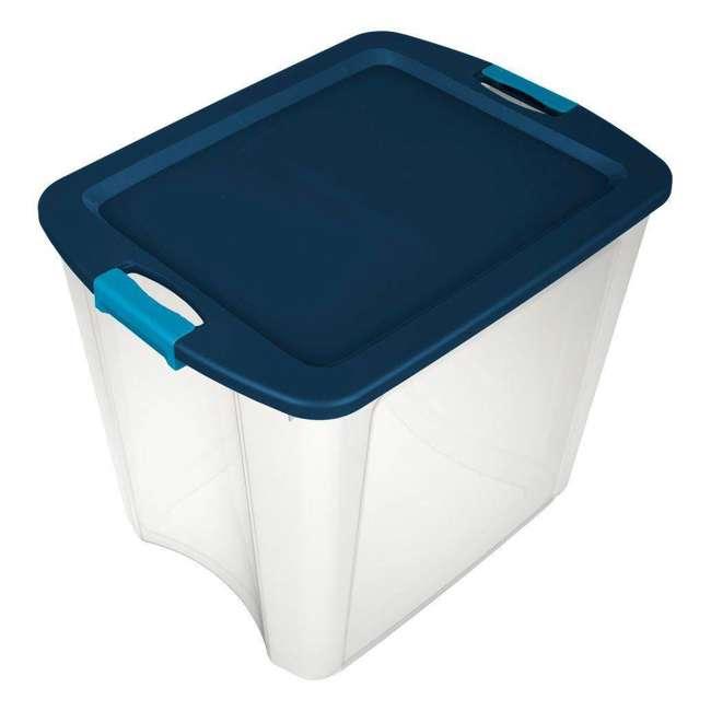 4 x 14489604-U-A 4 Pack Sterilite 26 Gallon Latch & Carry Storage Tote Box Containers (Open Box) 2