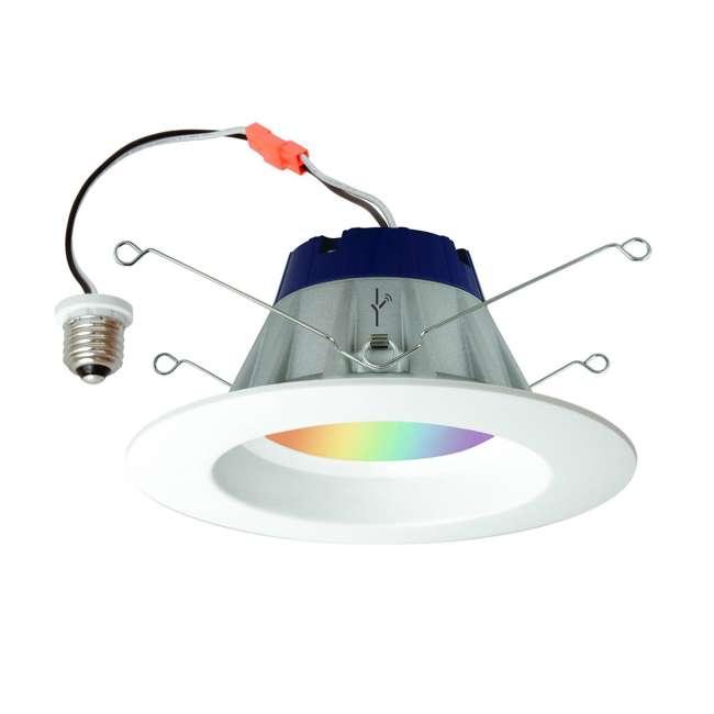 6 x SYL-73810-U-A Sylvania Lightify Smart Home Kit with 2 LED Lights, Gateway (Open Box) (6 Pack) 1