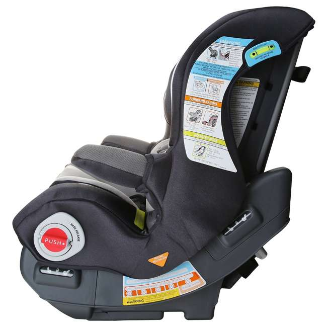 graco smart seat all in one convertible car seat rosin 1802320. Black Bedroom Furniture Sets. Home Design Ideas