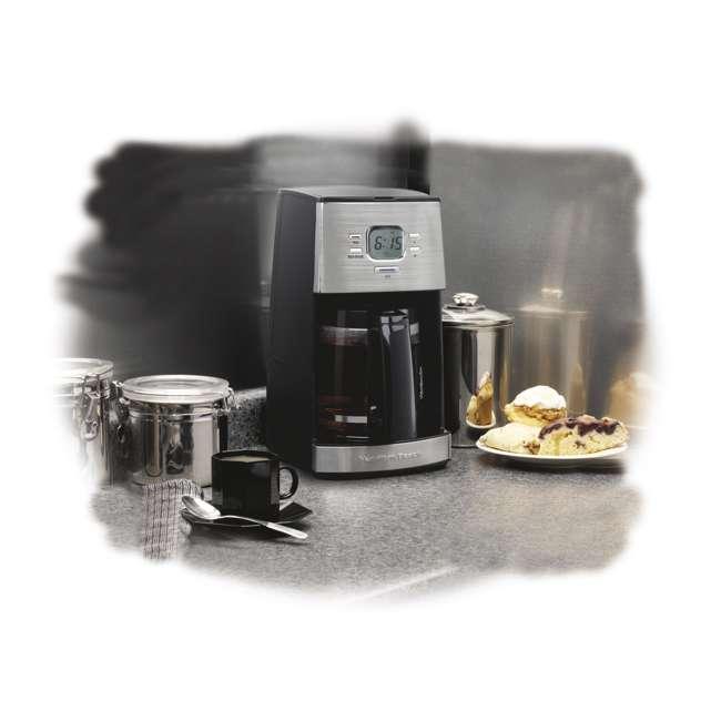 Drip Coffee Maker Vs Keurig : Hamilton Beach Ensemble 12-Cup Drip Red Coffeemaker 43254R
