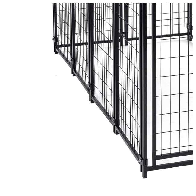 5 x CL-60548-U-A Lucky Dog Uptown Large Welded Kennel Heavy Duty Dog Cage (Open Box) (5 Pack) 3