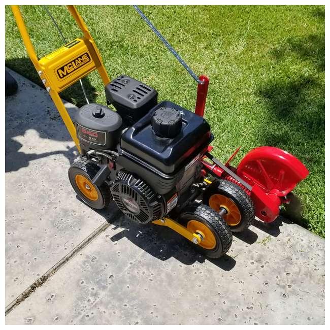 McLANE-101-4.75GT-7 McLane 101-4.75GT-7 9-Inch Gas Powered Lawn Edger, 5.50 Gross Torque B&S Engine 7 Inch Wheels  6