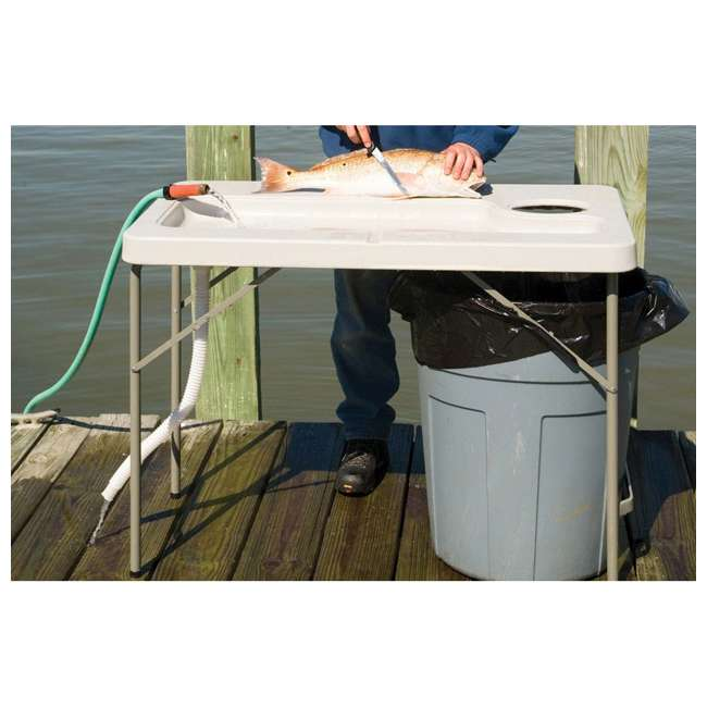 CCC-300 Coldcreek Outfitters Fillet Station Fish Cleaning Portable Outdoor Table w/ Sink 10