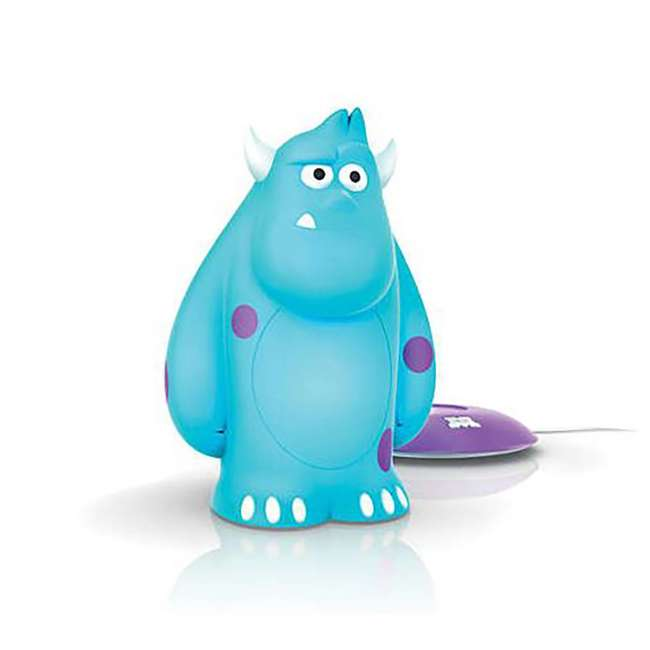 PLC-7176890U0 + PLC-798538 Philips Disney Finding Dory & Monsters Inc. Sulley Portable Nightlight (1 Each) 7