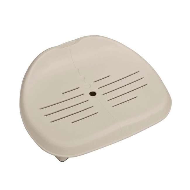 28505E + 28405E + 2 x 28502E Intex PureSpa Inflatable Hot Tub w/ Foam Headrests (2 Pack) and Removable Seats (2 Pack) 8