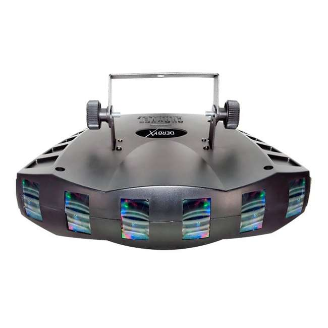 DERBY-X + DJBANK Chauvet DJ Derby X DMX-512 LED Strobe Lighting | Bank RGBA LED Wash Effect Light 1