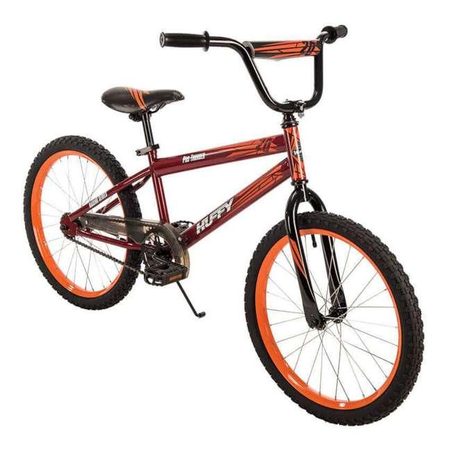 23308 Huffy 20 Inch Pro Thunder Durable Steel Frame Single Speed Coaster Bike, Red 1
