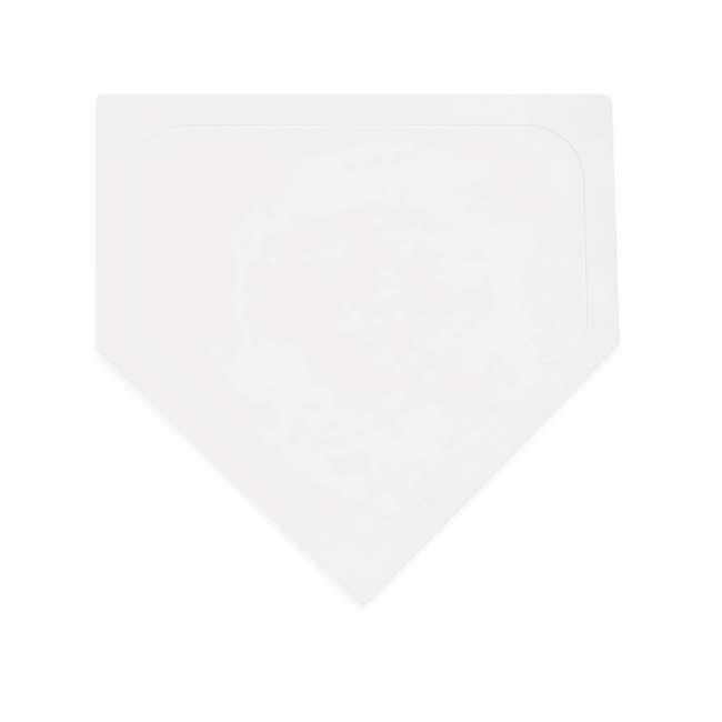 97W Champion Sports Indoor Outdoor Baseball Softball Throwdown Bases Set, White 1