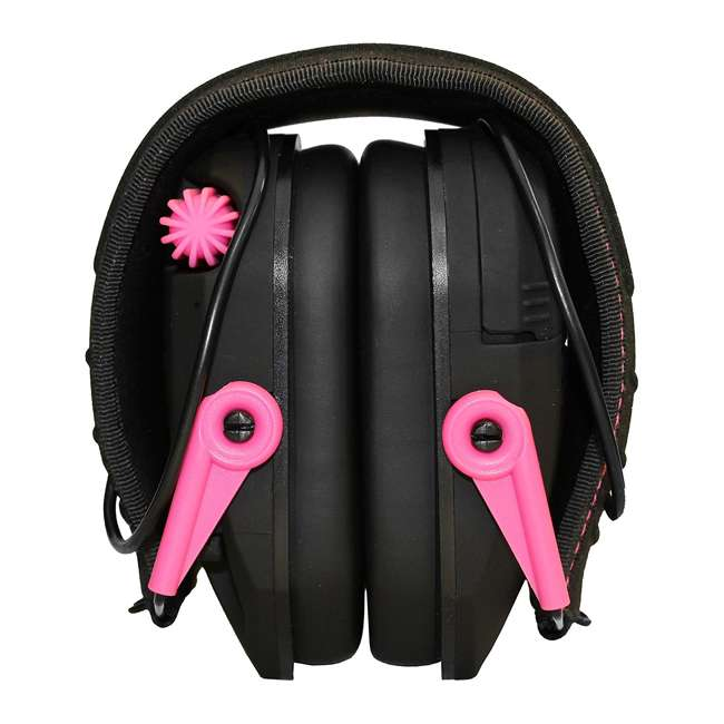 GWP-RSEM-PNK Walker's Razor Series Slim Shooter Folding Earmuffs, Pink 1
