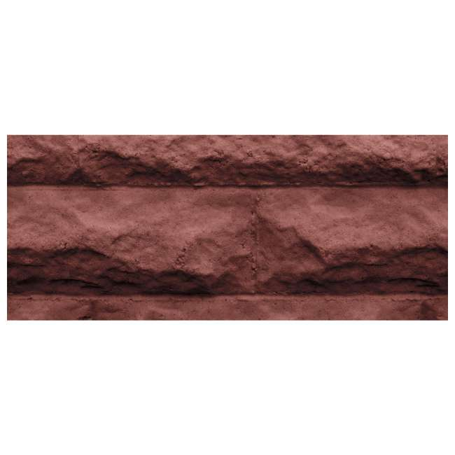 GW-WALL4-RED Good Ideas Garden Wizard Self Watering 4 Gallon Landscape Border, Red Brick 1