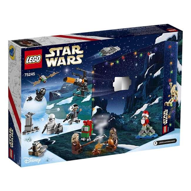 6251914 LEGO 75245 Star Wars 2019 Advent Calendar Block Building Kit w/ 6 Minifigures 3
