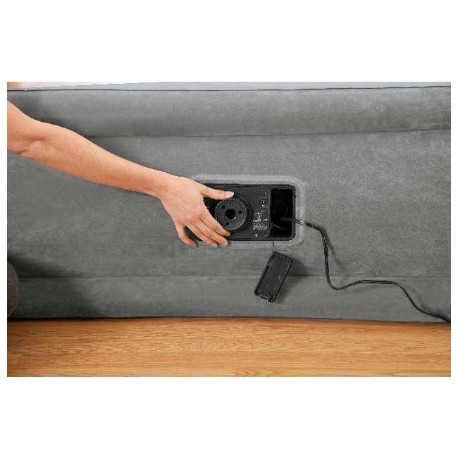 4 x 64411E-U-A Intex Comfort Plush Elevated Dura-Beam Airbed w/ Pump - Twin (Open Box) (4 Pack) 1