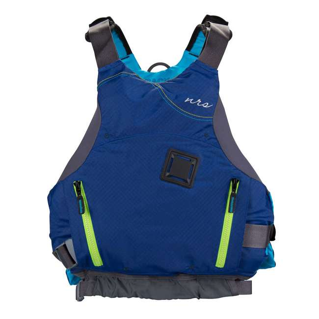 NRS_40036_02_103 NRS Adult Women's Siren PFD Life Jacket Vest, Teal, L/XL