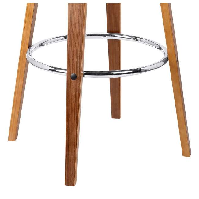 4 x LCJYBAGRWA30 Armen Living Jayden 30 Inch Mid Century Swivel Barstool Chair, Gray (4 Pack) 4