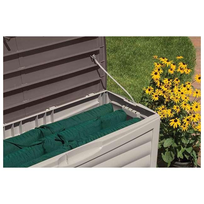 DB6300 Suncast 63 Gallon Deck Storage Box, Taupe 2