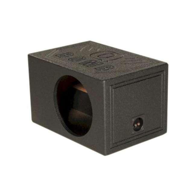 QBOMB12VLSQ-SINGLE Q Power QBOMB12VLSQ Single 12 Inch Side Ported Speaker Box for Kicker L7 Sub 1
