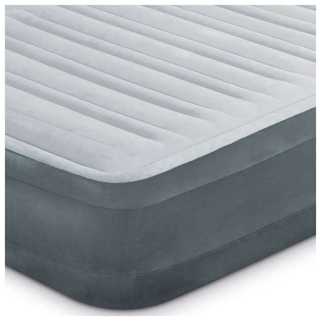 67769EP-U-A Intex Dura Beam Mid Rise Queen Air Mattress w/ Built In Pump  (Open Box) (2 Pack) 3