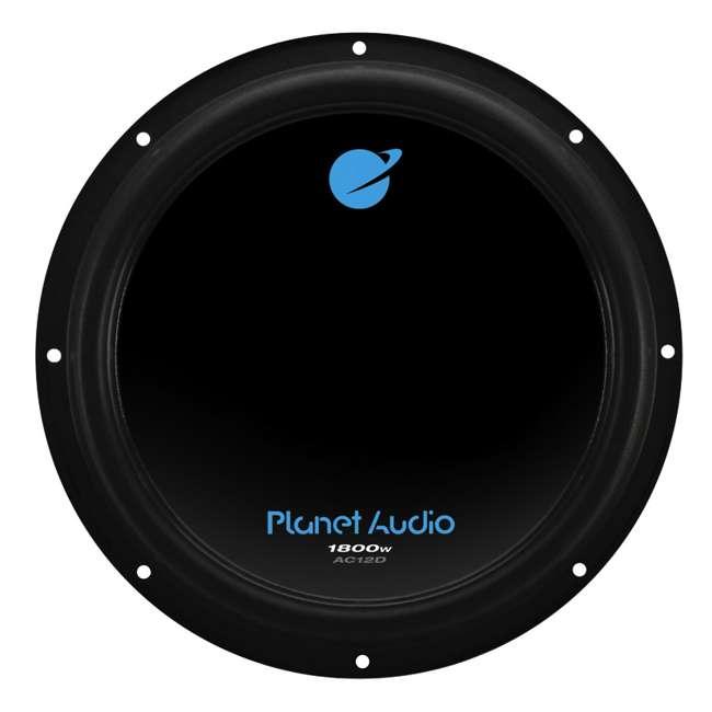 4 x AC12D Planet Audio AC12D 12-Inch 1800W Subwoofers (4 Subwoofers) 1