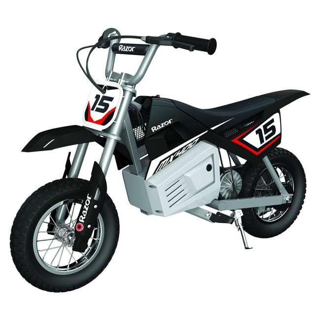 15128008 + 15128099 + 15128030 Razor MX400 Dirt Rocket 24V Electric Toy Motocross Motorcycle Dirt Bike (3 Pack) 2