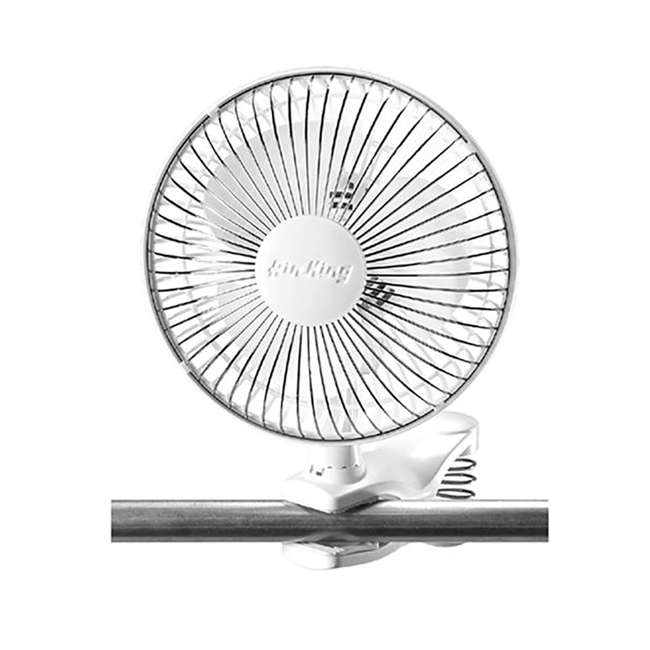 AK-9145-U-A Air King 6 Inch Commercial 120V Personal Clip On Fan Air | 9145 (Open Box)