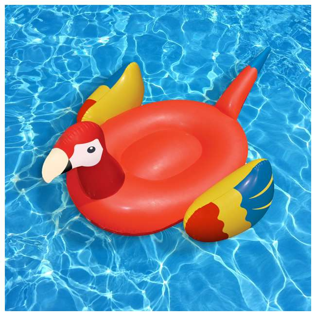 90629 Swimline Giant Inflatable Parrot Float 2