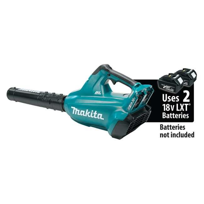 XBU02Z-U-B Makita X2 LXT 18V Battery Powered Li Ion Handheld Leaf Blower, Tool Only (Used) 5