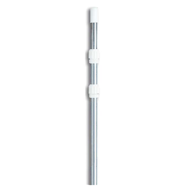 8350M-U-A Swimline 8350M 3 Piece Mill Finish Twelve Foot Telescopic Pole 4'-12' (Open Box)